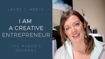 creative entrepreneur, art, artist, abstract art, quit 9-5